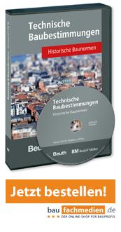 DVD Technische Baubestimmungen – Historische Baunormen