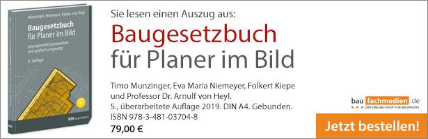 Cover Baugesetzbuch im Bild